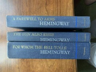 Hemingway 3 Book Set
