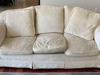 3 Cushion Upholstered Sofa