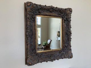 Framed Beveled Edge Wall Mirror