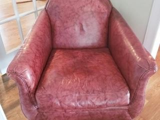 Leather Club Chair by Lexington Furniture Company