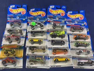 Box: Apx 50-60 Carded Hot Wheels