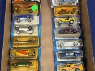 Flat: Apx 15 C. 1980s Carded Hot Wheels