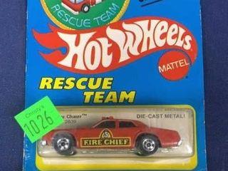 2 Hot Wheels Rescue Series C 1980s