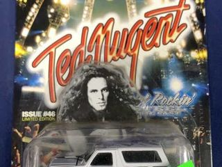 Racing Champions Hot Rockin Steel Ted Nugent