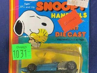 Hasbro Preschool Snoopy Handfuls Die Cast