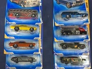 Box: Apx 36 Carded Hot Wheels