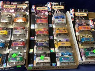 3 Flats: 15 Matchbox Nba Collection Series