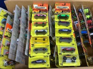 Box: Apx 110 Matchbox Vehicles