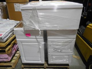 WHOLESALE PALLET LOT OF CABINETS