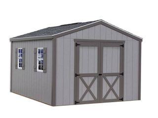 Best Barns Elm 10 ft. x 16 ft. Wood Storage Shed Kit