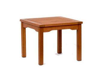 Murano Eucalyptus Square Patio Side Table