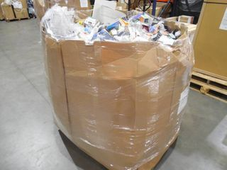WHOLESALE PALLET LOT OF GENERAL MERCHANDISE, SMALLS- TOOLS,HARDWARE ITEMS