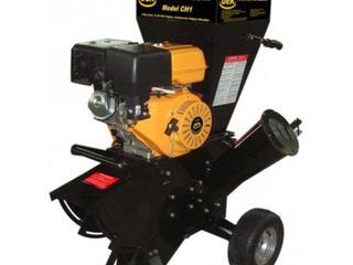 NEW - DEK Discontinued 15 HP 420cc Commercial Duty Chipper Shredder with 4 in. Diameter Feeder - with Trailer Hitch