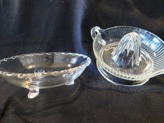 Candy Dish And Juicer