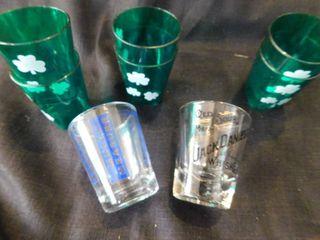 Shot Glass   Set of St  Patricks Shots