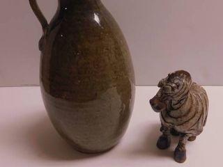 Pottery Items  2 ea