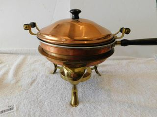 Vintage Copper Chafing Dish