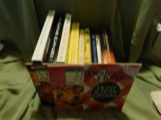 Cookbooks  11 ea
