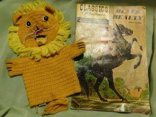 Vintage Comic Book   Puppet