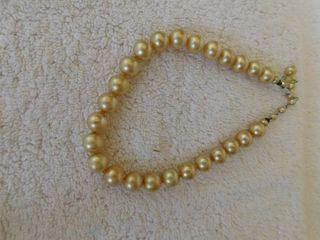 Vintage Heavy Bead Necklace