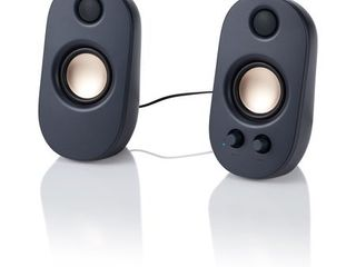 onn  AC Powered Computer Speakers with Volume and Bass Controls