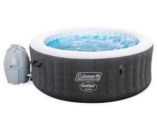 Coleman Saluspa 71  x 26  Havana AirJet Inflatable Hot Tub with Remote Control  2 4 person