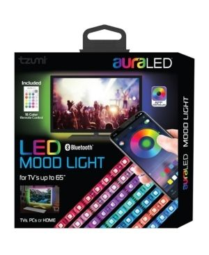 AuralED Remote Controlled lED Mood light Strip with Smartphone App