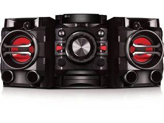 lG CM4360 230w Mini Shelf Audio System   Black
