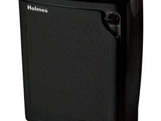 Holmes Allergen Removing Air Purifier with True HEPA Filter  Black