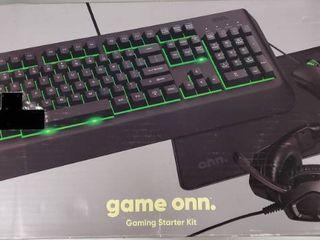 onn  Gaming Starter Kit  4 Pieces