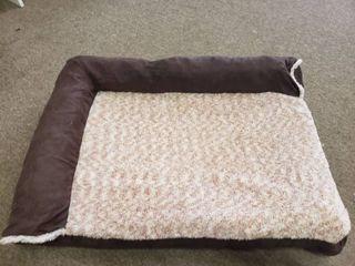 Furhaven Pet   Plush Orthopedic Sofa  l Shaped Chaise Couch  Ergonomic Contour Mattress