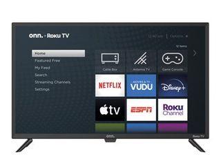 onn  32in Class 720P HD lED Roku Smart TV