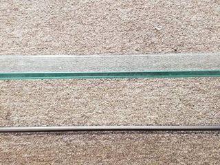 Allied Brass Dottingham Collection 16 Inch Single Glass Shelf