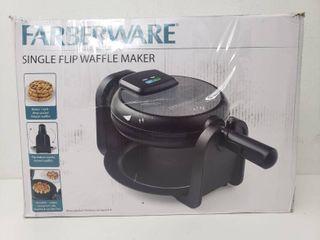 Farberware Single Flip Waffle Maker