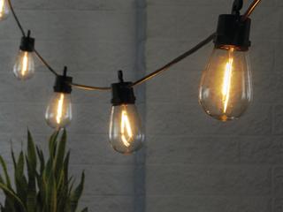 Better Home   Garden Solar String lights for Decks  Patios  Backyards