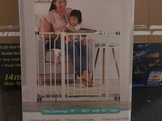 Regalo Extra Wide Baby Gate  29in 39in with Walk Through Door