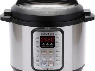Instant Pot   8qt Digital Multi Cooker   Black Stainless Steel