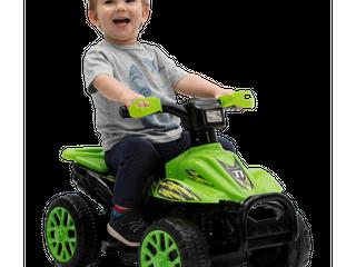 Kalee Green Quad ATV 6 Volt Ride on Car
