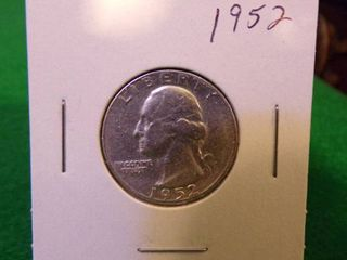 1952 WASHINGTON QUARTER