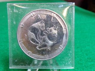 1 TROY OZ   999 SIlVER PANDA ROUND COIN