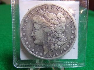 1894 S MORGAN DOllAR