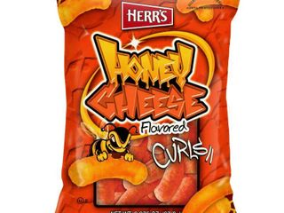 Herr's Honey Cheese Curls - 20 2.375oz bags