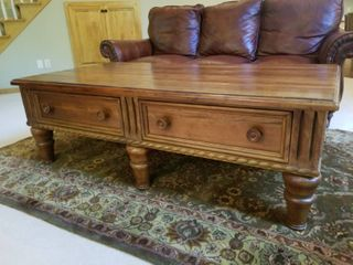 Americana Inspired Luxury Coffee Table by Thomasville Furniture