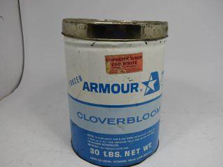 Vintage Frozen Armor Cloverbloom Can