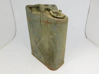 Vintage Red Military Style Gas Can