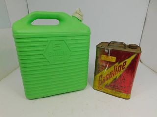 U.S. 5 gal. Container / 2 gal. Gasoline Can
