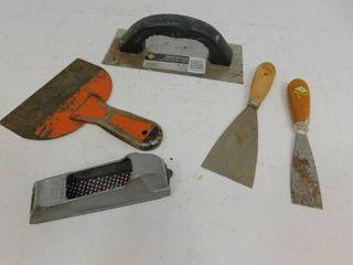 QEP Wall & Roofing Trowel, 3 Scrapers, Stanley Surform Pocket Plane Shaver