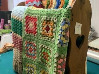 HANDMADE BLANKETS/THROWS BY ELSIE TARWATER