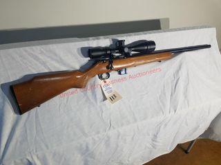 Marlin Model 917V Rifle w/scope sn#966145