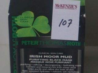 PETER THOMAS ROTH IRISH MOOR MUD BLACK MASK